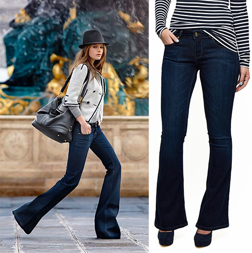 Flared Jeans Outfit Inspiration