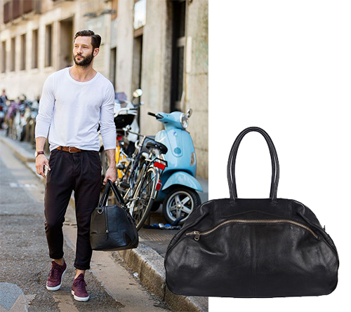 Street Style The Man Bag