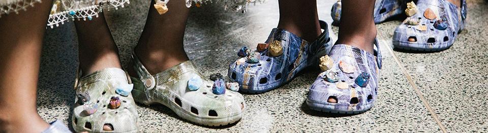 Nieuwe trend: Crocs